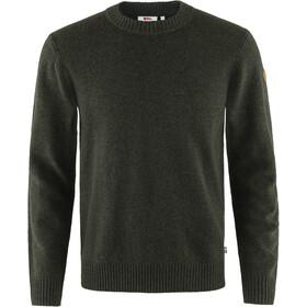 Fjällräven Övik Round-neck Sweater Men dark olive